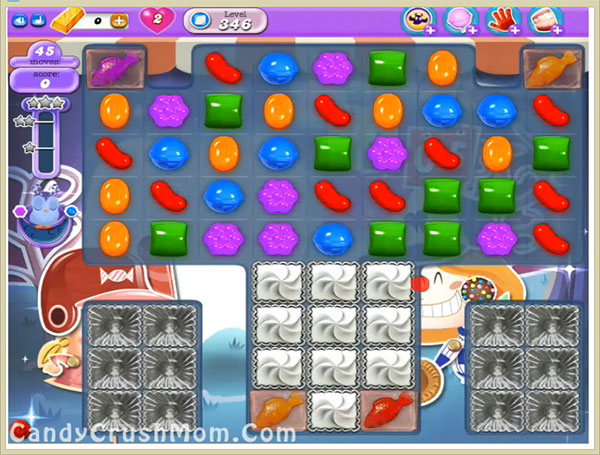 Candy Crush Dreamworld Level 346