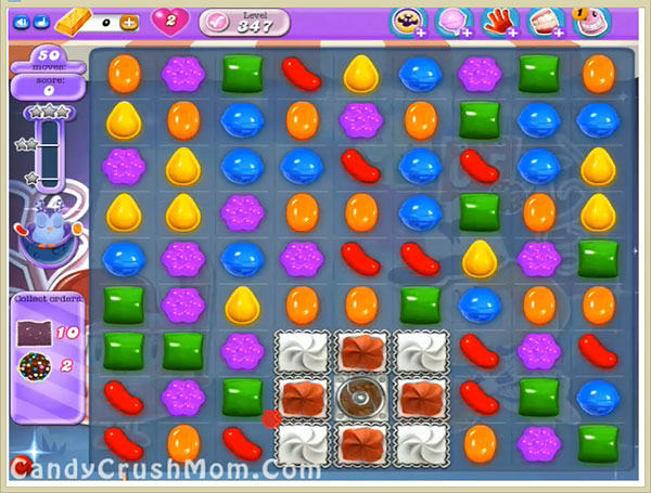 Candy Crush Dreamworld Level 347