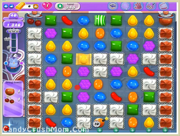 Candy Crush Dreamworld Level 348