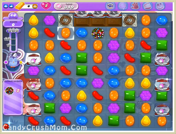 Candy Crush Dreamworld Level 349