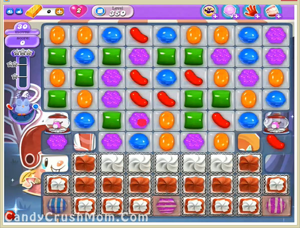 Candy Crush Dreamworld Level 350