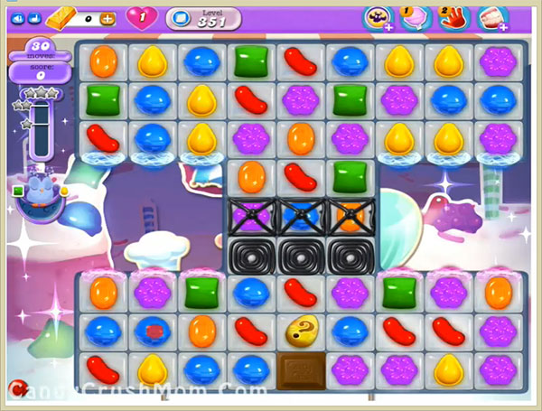 Candy Crush Dreamworld Level 351