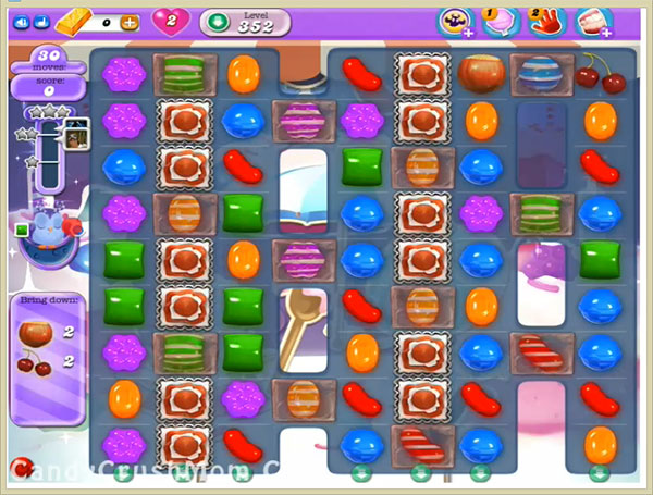 Candy Crush Dreamworld Level 352