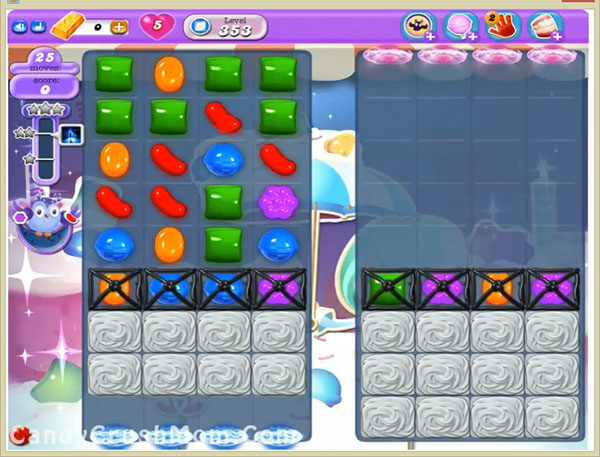 Candy Crush Dreamworld Level 353