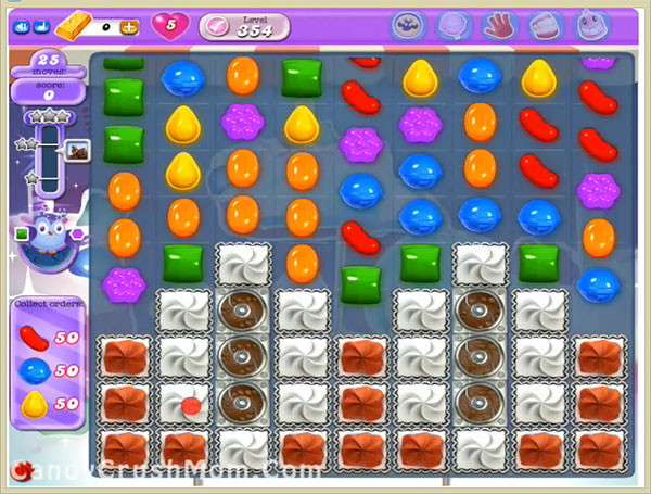 Candy Crush Dreamworld Level 354