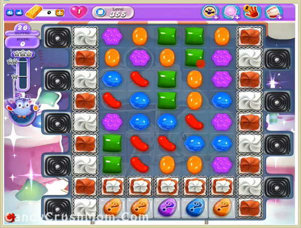 Candy Crush Dreamworld Level 355