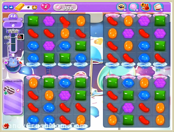 Candy Crush Dreamworld Level 356
