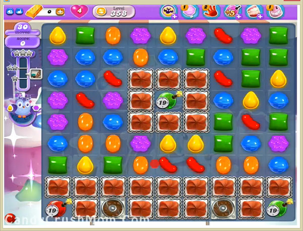 Candy Crush Dreamworld Level 358