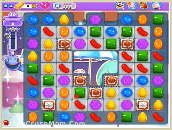 Candy Crush Dreamworld Level 359