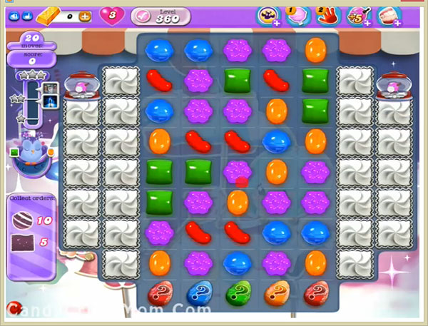 Candy Crush Dreamworld Level 360