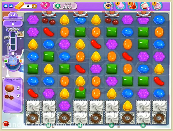Candy Crush Dreamworld Level 361