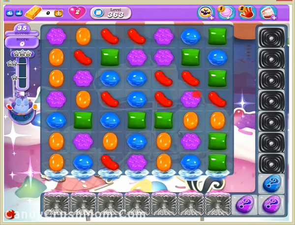 Candy Crush Dreamworld Level 363