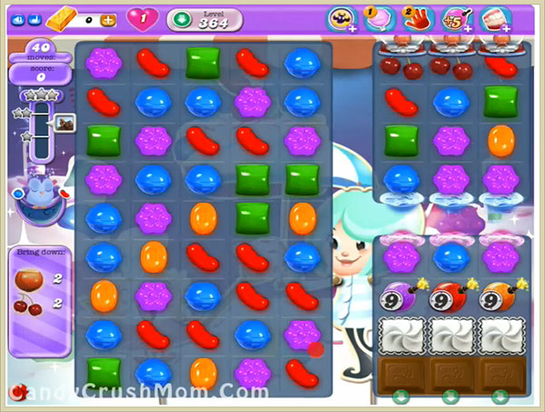 Candy Crush Dreamworld Level 364