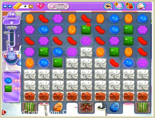 Candy Crush Dreamworld Level 365