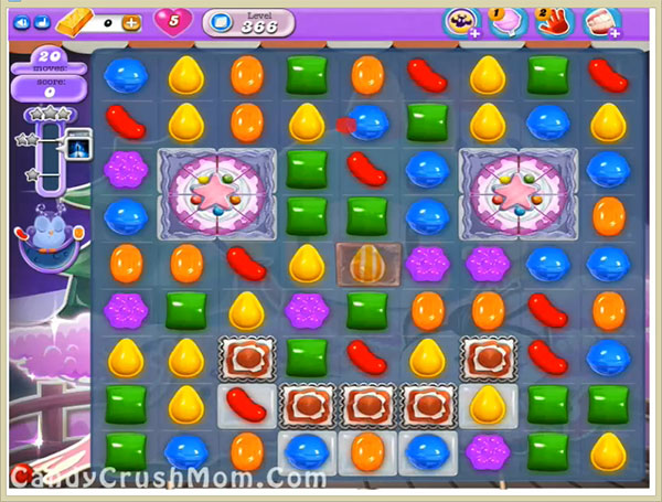 Candy Crush Dreamworld Level 366