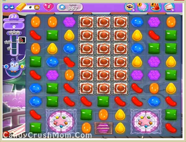Candy Crush Dreamworld Level 367