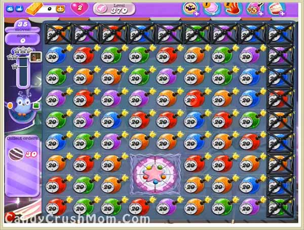 Candy Crush Dreamworld Level 370