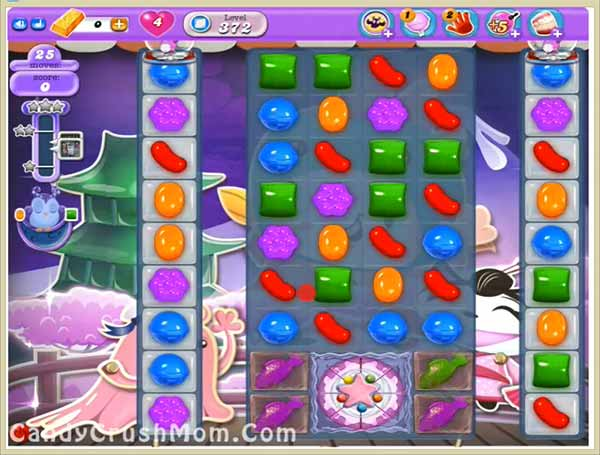 Tips and Walkthrough: Candy Crush Dreamworld Level 372