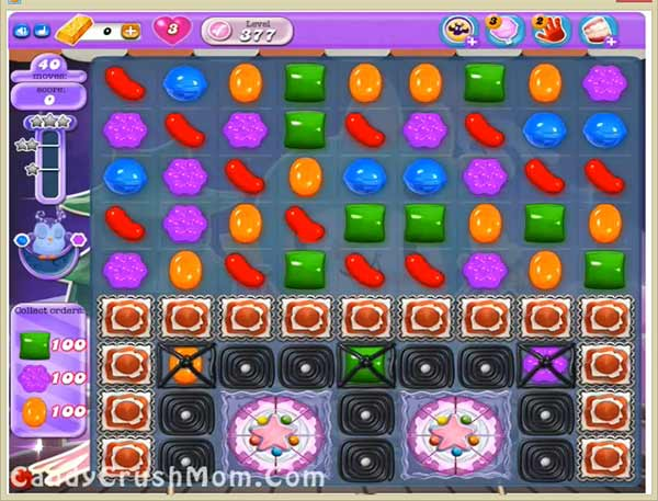 Candy Crush Dreamworld Level 377