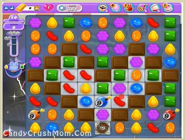Candy Crush Dreamworld Level 381