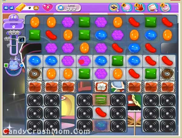 Candy Crush Dreamworld Level 382