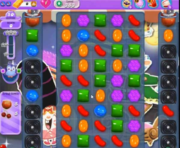 Candy Crush Dreamworld Level 383