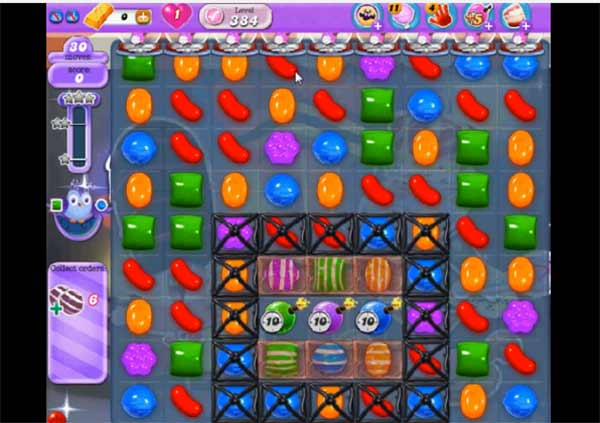 Candy Crush Dreamworld Level 384