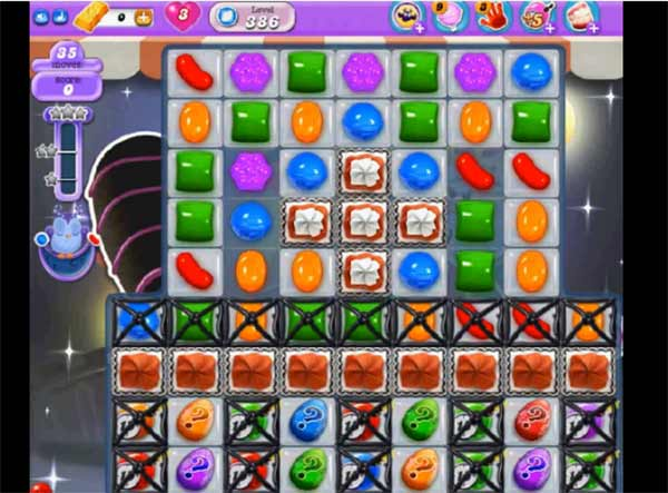 Candy Crush Dreamworld Level 386