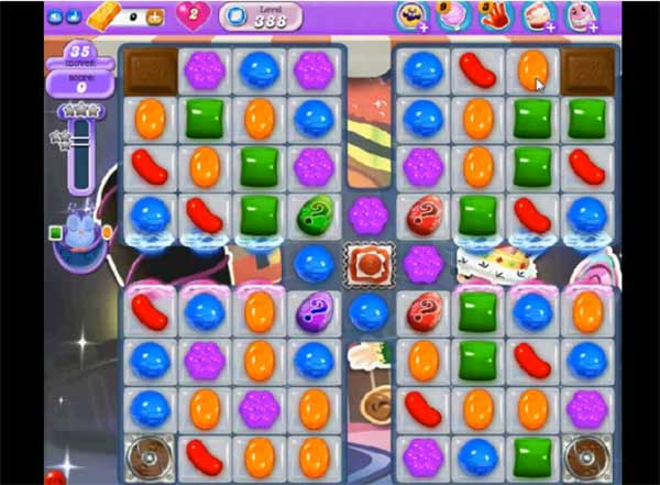 Candy Crush Dreamworld Level 388