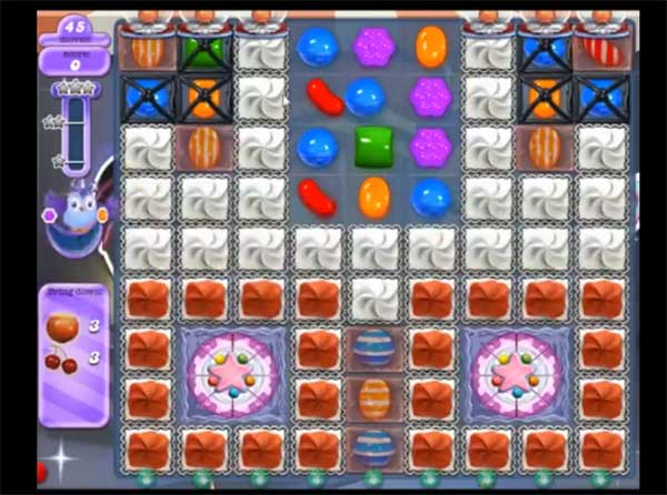 Candy Crush Dreamworld Level 390