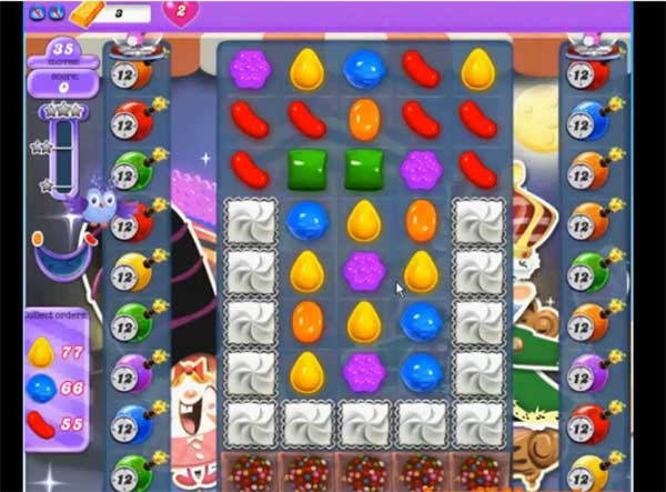 Candy Crush Dreamworld Level 391