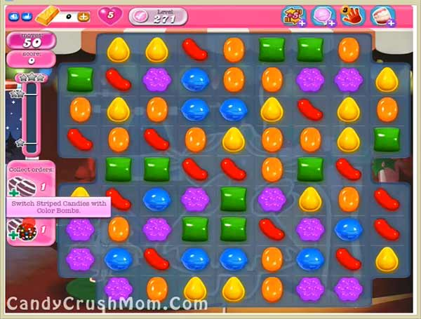 Candy Crush Level 271