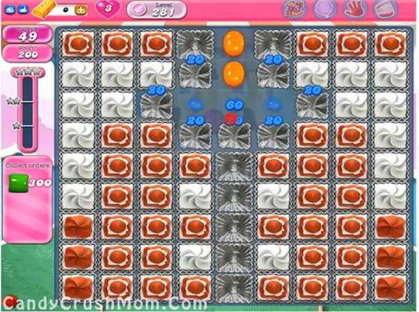 Candy Crush Level 281