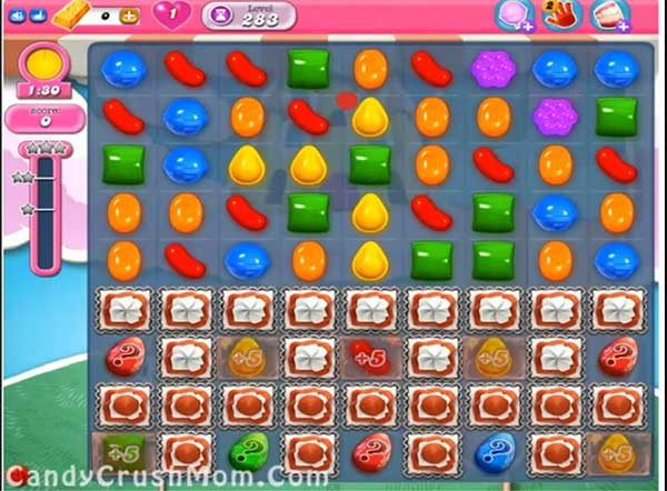 Candy Crush Level 283