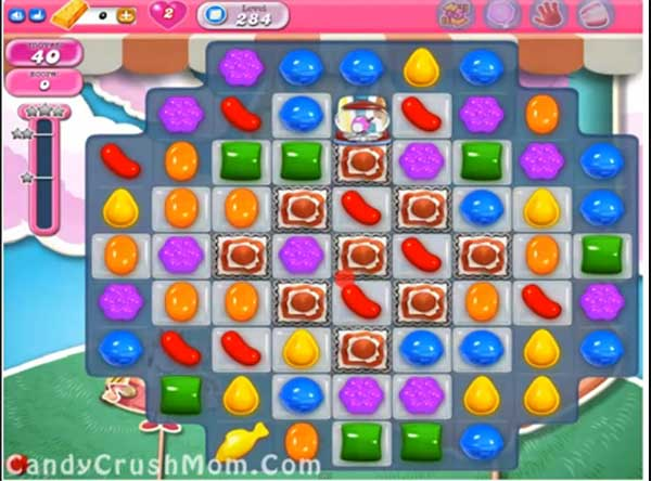 Candy Crush Level 284