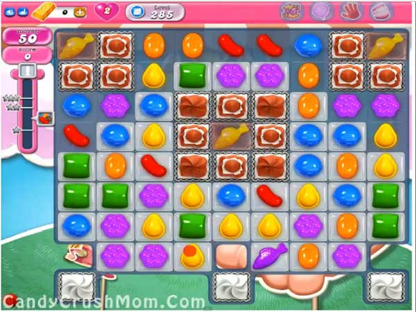 Candy Crush Level 285