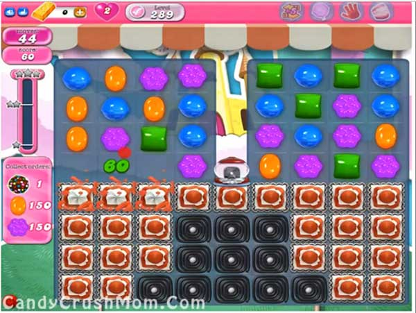 Candy Crush Level 289