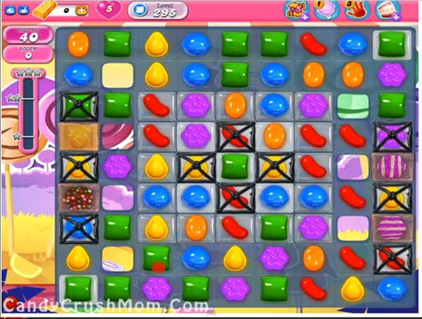 Candy Crush Level 295