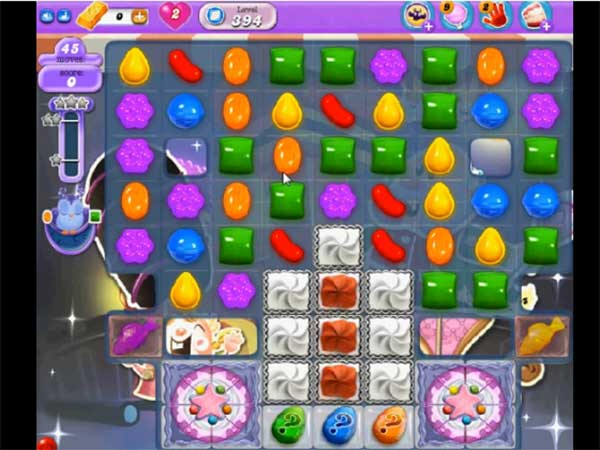 Candy Crush Dreamworld Level 394