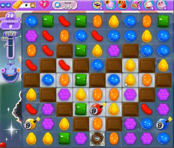 Candy Crush Dreamworld Level 396