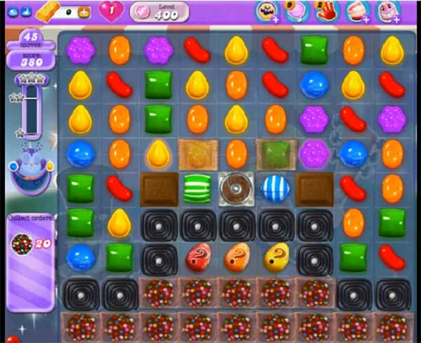 Candy Crush Dreamworld Level 400