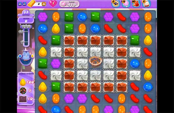 Candy Crush Dreamworld Level 419