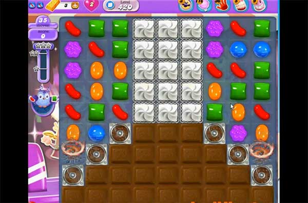 Candy Crush Dreamworld Level 420