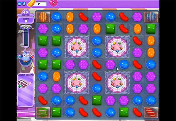 Candy Crush Dreamworld Level 421