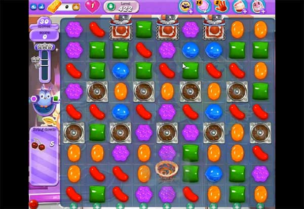 Candy Crush Dreamworld Level 422