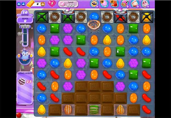 Candy Crush Dreamworld Level 423
