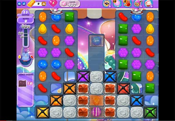 Candy Crush Dreamworld Level 427