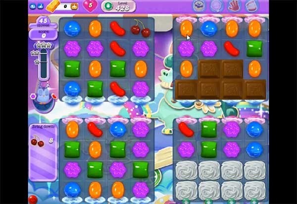 Candy Crush Dreamworld Level 428