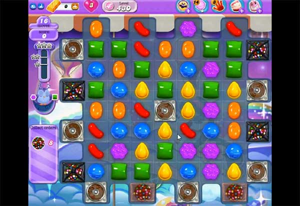 Candy Crush Dreamworld Level 430