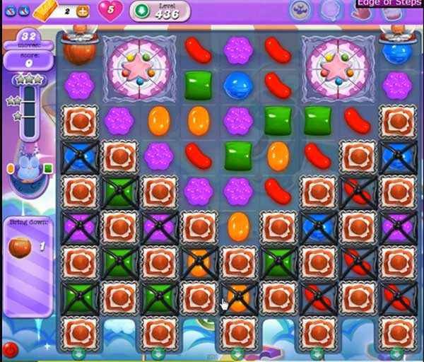 Candy Crush Dreamworld Level 436
